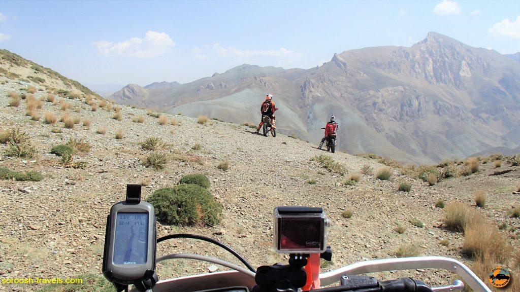 بالاترین ارتفاع در مسیر دیزین ، دشت لار و بلده - تابستان ۱۳۹۶
