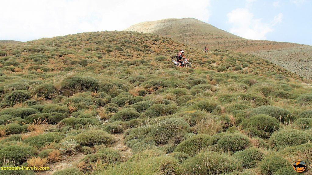 مسیر دشت لار به بلده - تابستان ۱۳۹۶