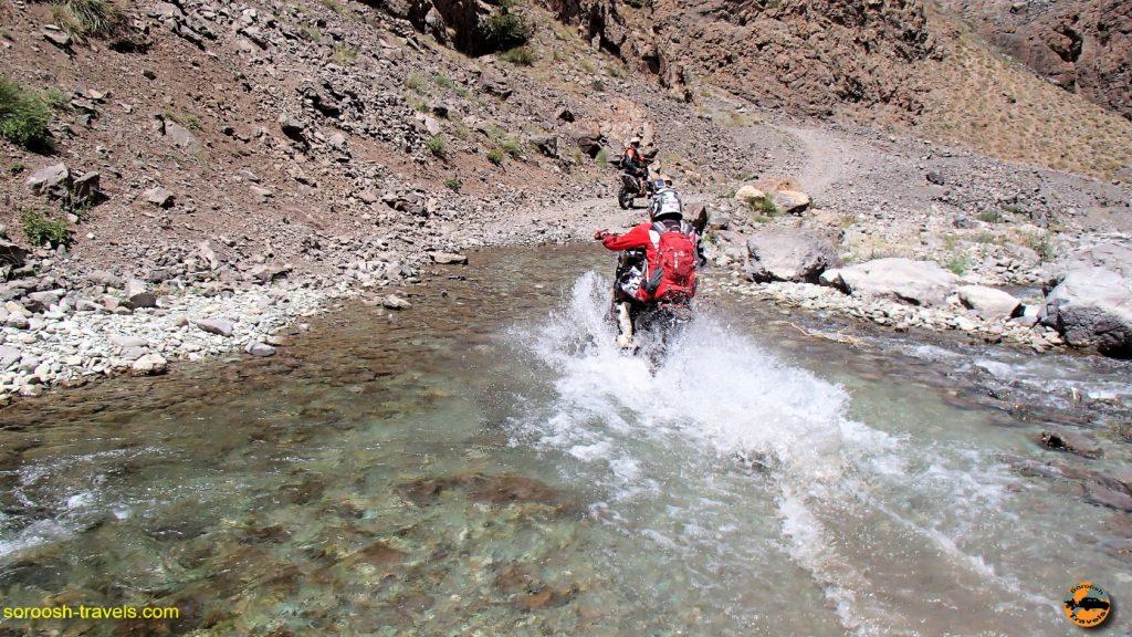 دشت لار به بلده با موتور - تابستان ۱۳۹۶