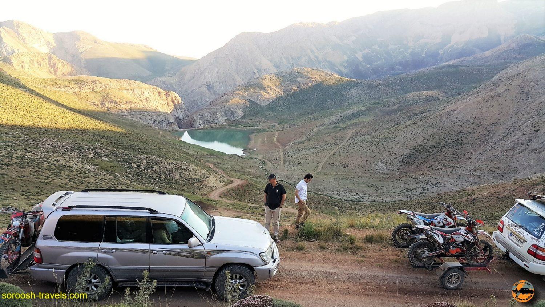 مسیر دریاچه لزور - مرداد ۱۳۹۶