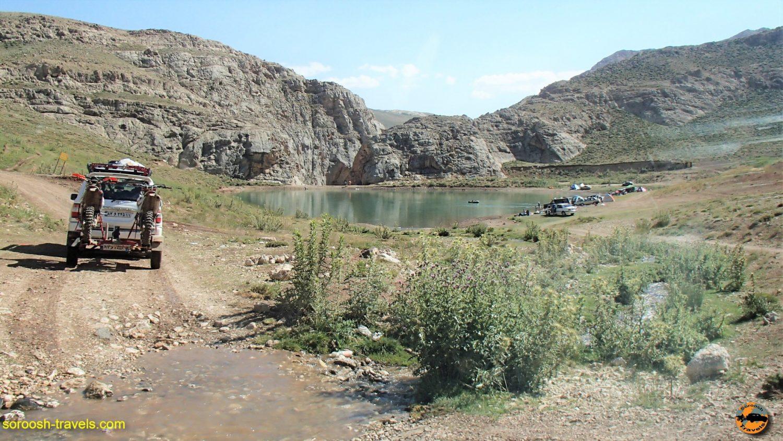 نقاط دیدنی لزور - دریاچه لزور - مرداد ۱۳۹۶