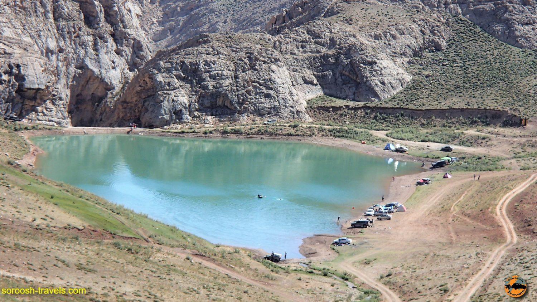 دریاچه لزور و دریاچه نمرود – مرداد ۱۳۹۶