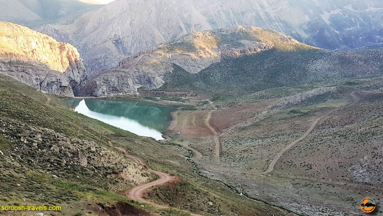 دریاچه سد لزور - مرداد ۱۳۹۶