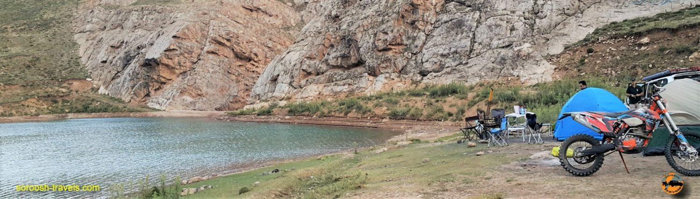 سد دریاچه لزور - مرداد ۱۳۹۶
