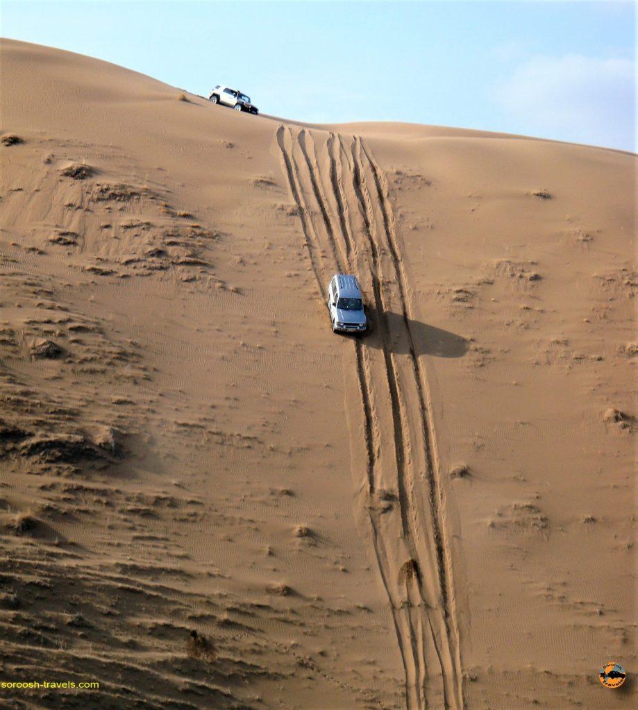 آفرود در کویر بند ریگ – پائیز ۱۳۹۲