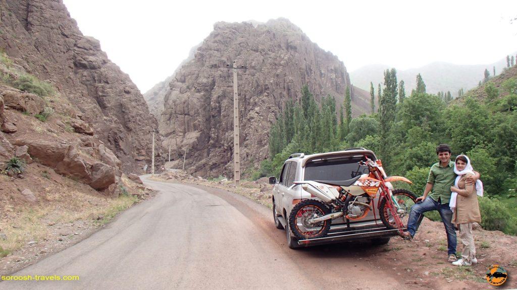 طالقان به تنکابن و جنگلهای آن - بهار 1393