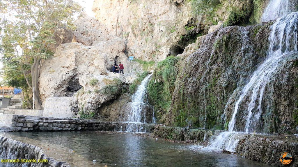 آبشار روستای نیاسر - پاییز ۱۳۹۶