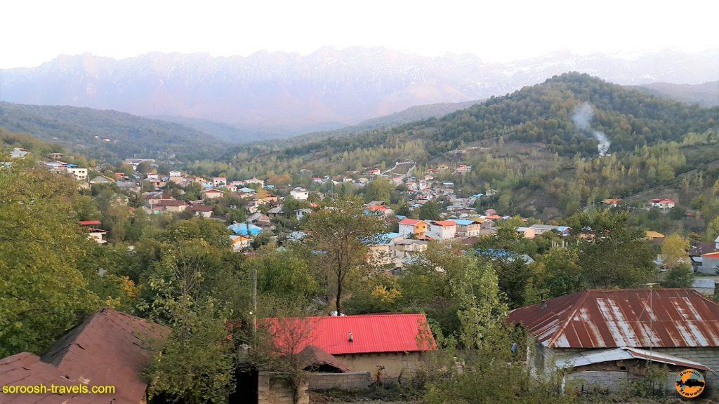 روستای سنگده و آبشار اوبن - پاییز 1396
