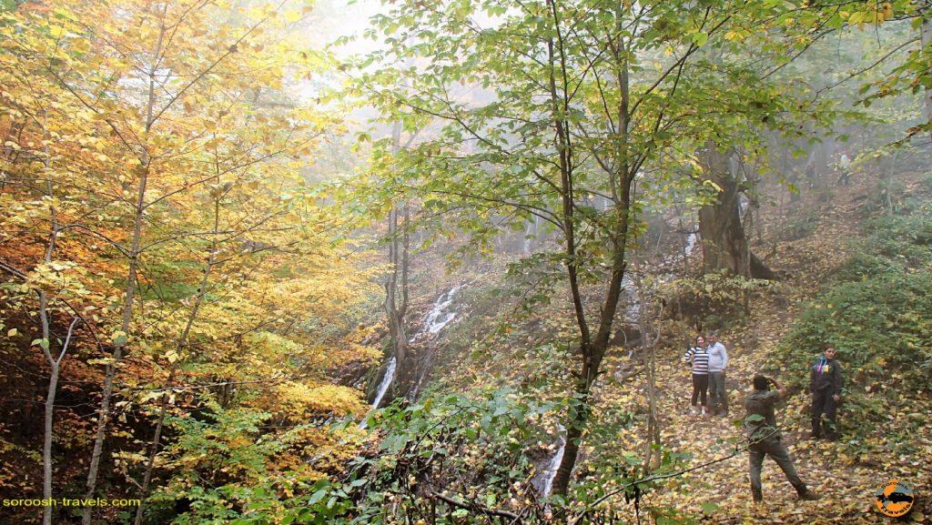 پاییز شگفت انگیز در روستای سنگده - پاییز 1396