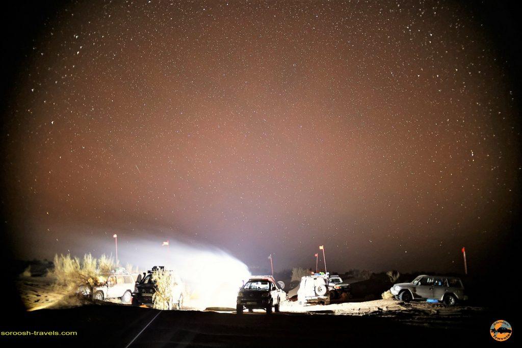 آسمان شب در کویر زرین : پاییز 1393