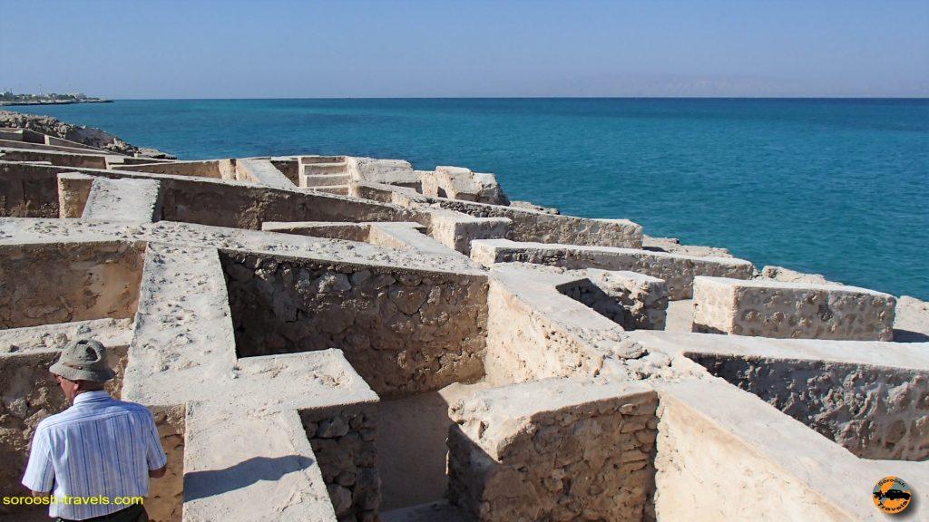 شهر قدیمی حریره در جزیره کیش - پاییز 1393
