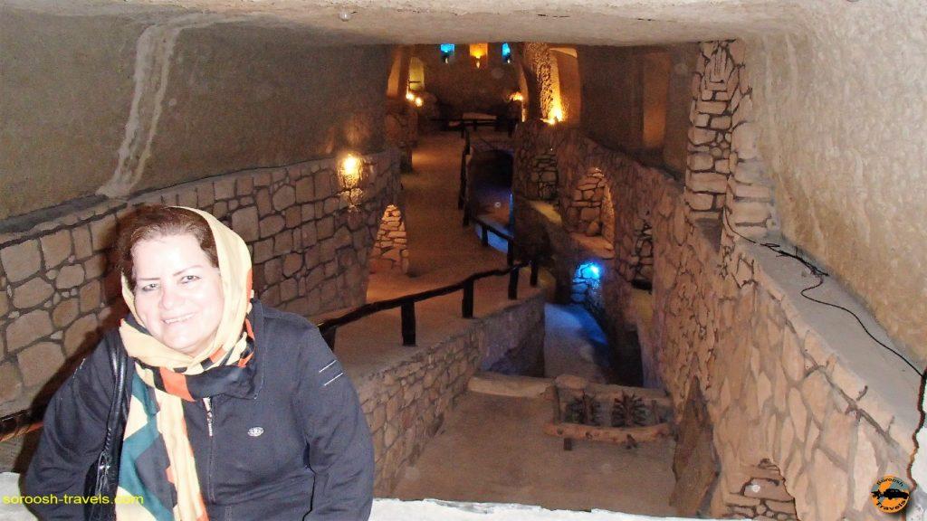 شهر زیرزمینی کیش - پاییز 1393