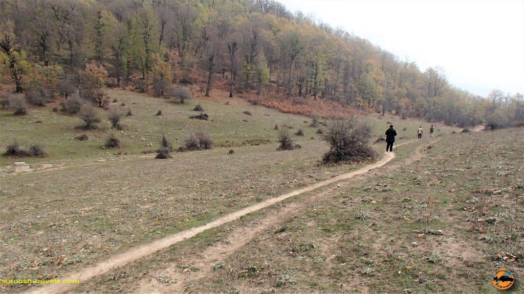 مسیرهای جنگلی سرسو - آبان ماه ۱۳۹۶