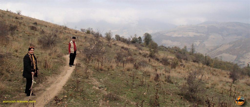 پیاده روی در جنگل سرسو - آبان ماه ۱۳۹۶