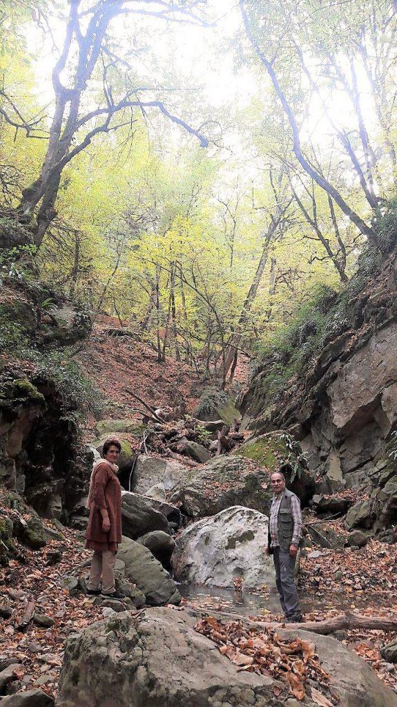منطقه سرسو و تنگه بهشت - آبان ماه ۱۳۹۶