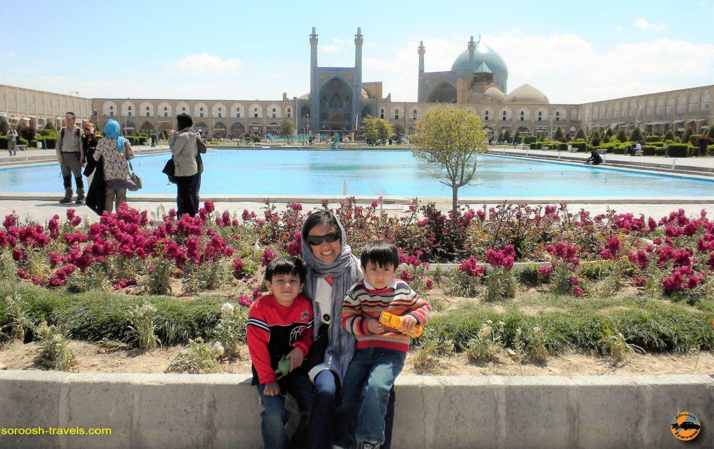 شهر زیبای اصفهان – بهار ۱۳۸۸