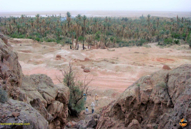 روستای زیبای گرمه در حاشیه کویر مرکزی – بهار ۱۳۸۸