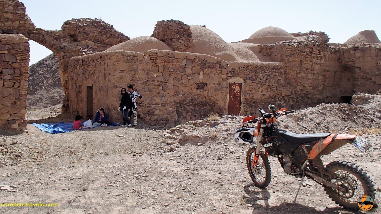 آفرود در مناطق کاروانسرای سنگی علی آباد - مهرماه ۱۳۹۳