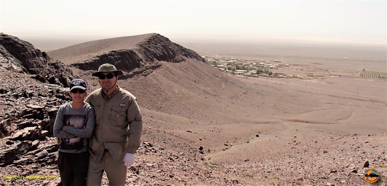 ارتفاعات روستای چشمه شور - مهرماه ۱۳۹۳