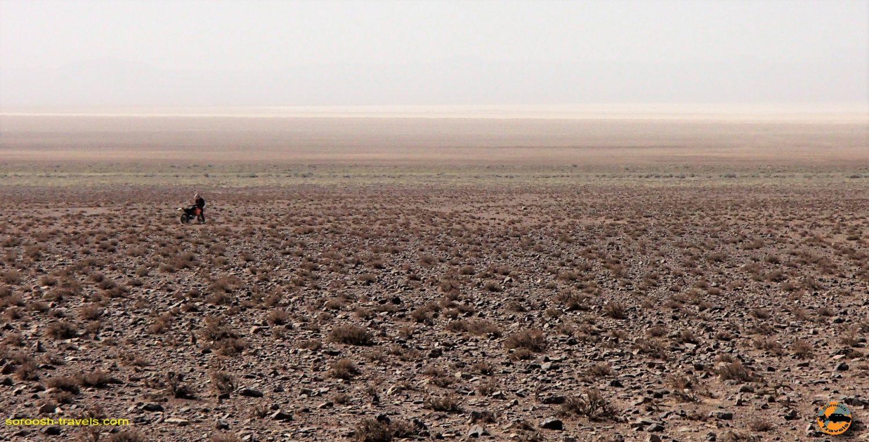 دریاچه نمک حوض سلطان - مهرماه ۱۳۹۳