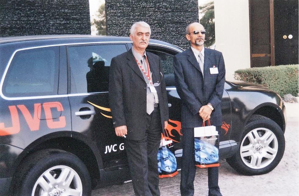 دوره آموزشی جی وی سی JVC در دوبی – خرداد ۱۳۸۳