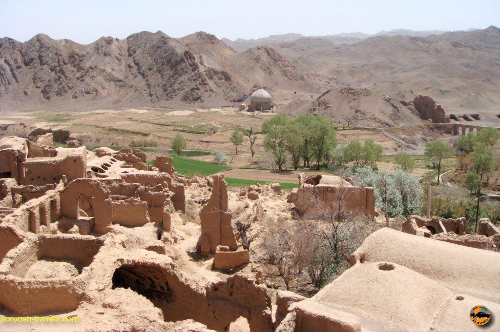 کاروانسرای باستانی خرانق – بهار ۱۳۸۸