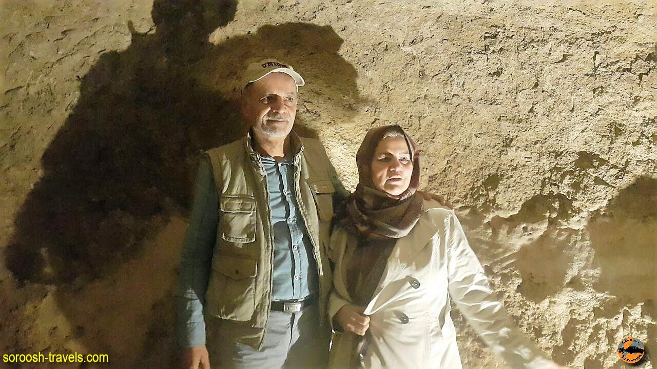 شهر زیر زمینی نوش آباد - پاییز 1396