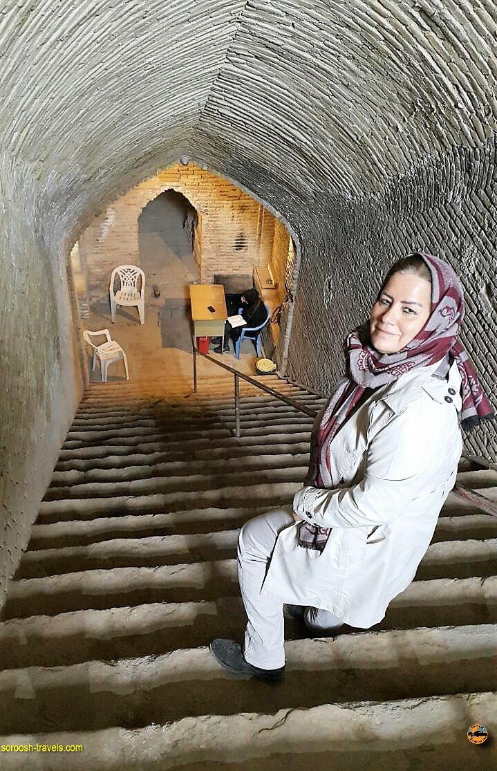 آب انبار ، ورودی شهر زیر زمینی نوش آباد - پاییز 1396