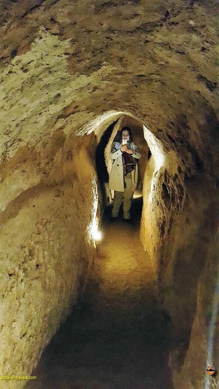 شهر زیر زمینی نوش آباد یا اویی - پاییز 1396