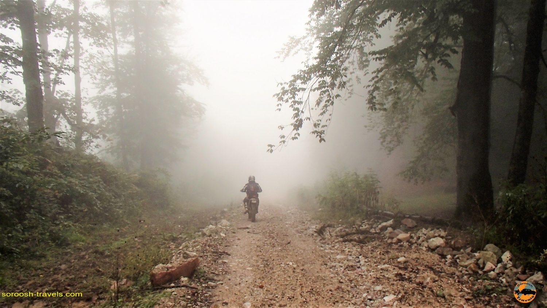 کلاردشت،  جاده گاز – پاییز ۱۳۹۳