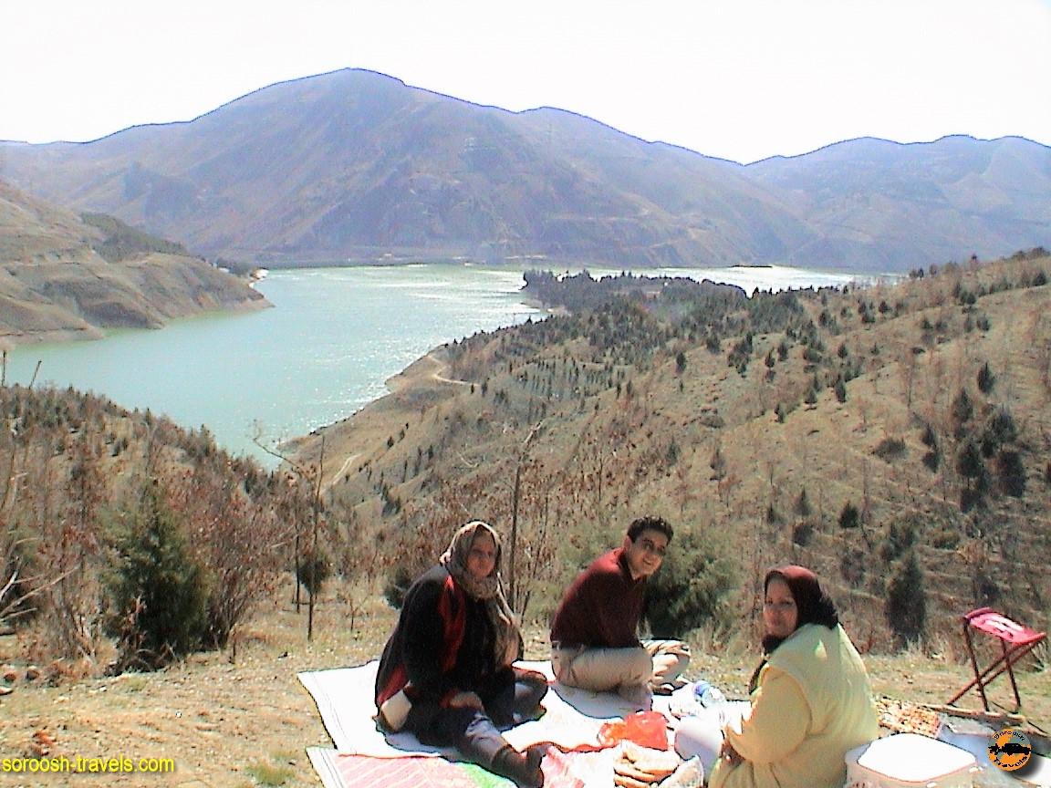 دریاچه سد لتیان – نوروز ۱۳۸۵