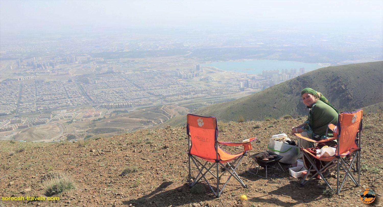 ارتفاعات لتمال کن، شمال غربی تهران – بهار ۱۳۹۳