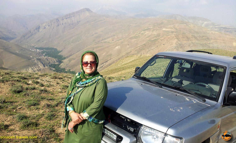 ارتفاعات لتمال کن، شمال غربی تهران - بهار ۱۳۹۳