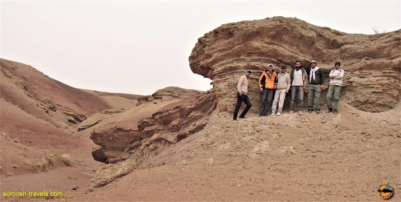 آفرود در منطقه نصرت آباد، جنوب غربی کرج – پاییز ۱۳۹۳