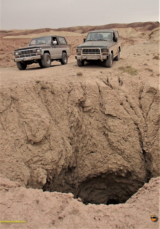 ماجراجویی در نصرت آباد - جنوب غربی کرج - پاییز ۱۳۹۳