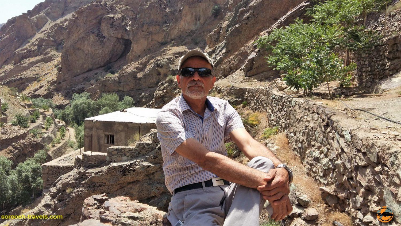 روستای رندان، شمال غربی تهران - تابستان ۱۳۹۴