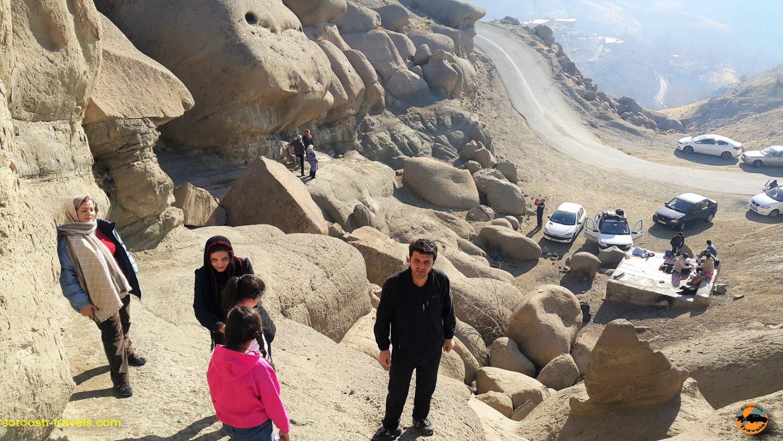 منطقه وردیج ، شمال غربی تهران - زمستان ۱۳۹۶