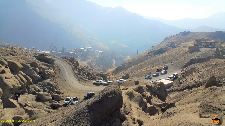 کوهستان صخره ای عجیب وردیج ، شمال غربی تهران – زمستان ۱۳۹۶