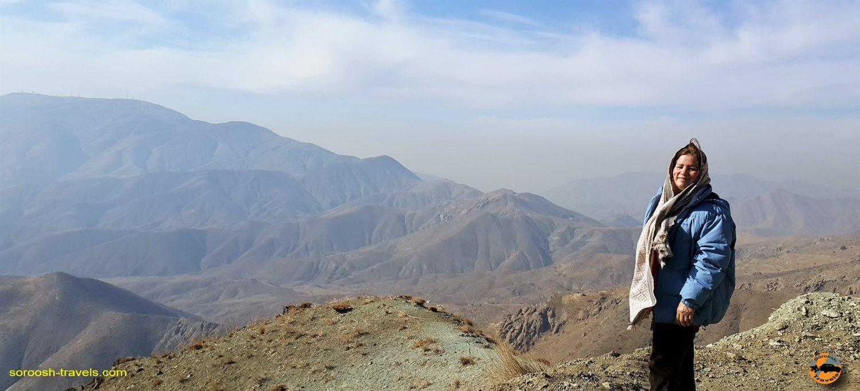 منطقه واریش ، شمال غربی تهران - زمستان ۱۳۹۶
