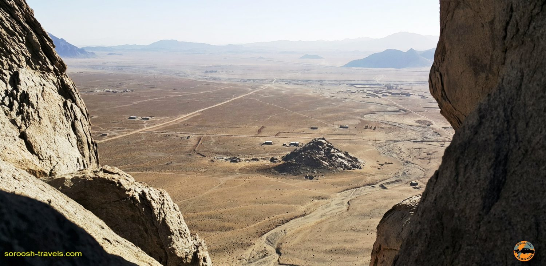 منطقه زیبای لوچو، حوالی زاهدان - زمستان ۱۳۹۶