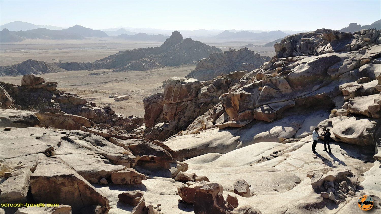 منطقه زیبای لوچو، حوالی زاهدان – زمستان ۱۳۹۶