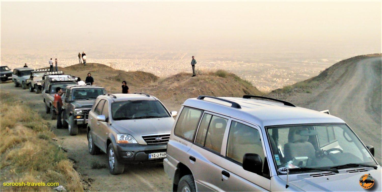 ارتفاعات شهران، تهران – تابستان ۱۳۸۹