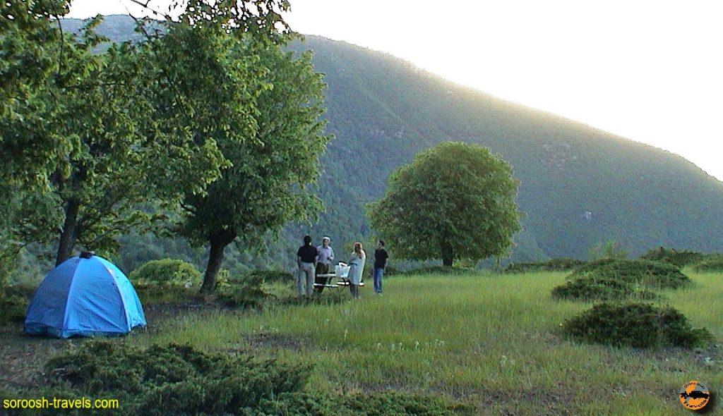 شاهرود به گرگان، ارتفاعات توسکاستان – بهار ۱۳۸۱