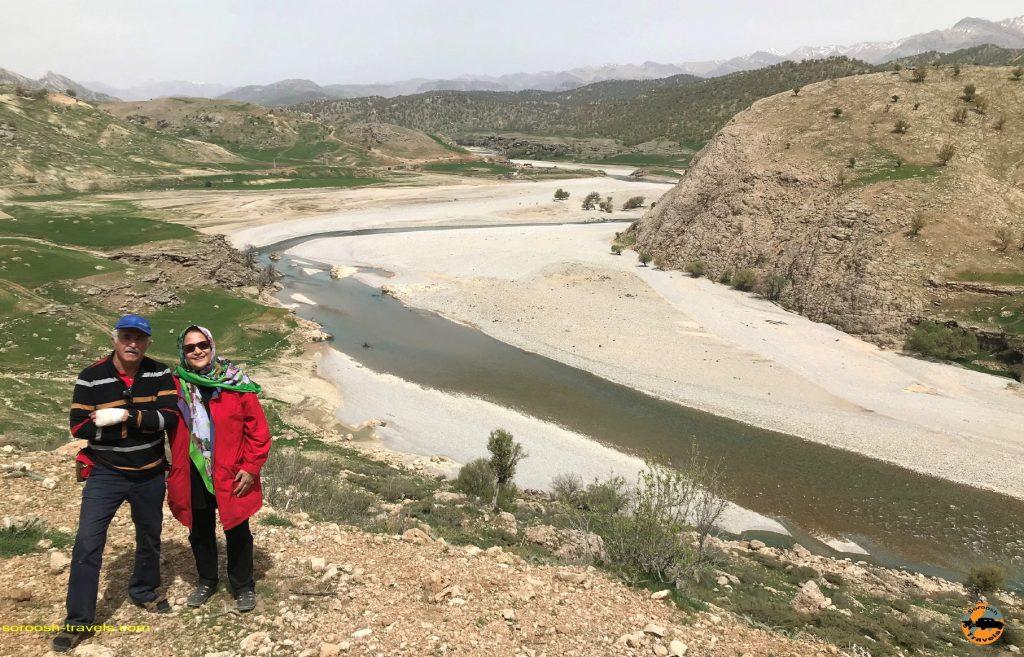 رودخانه زیبای بازفت | نوروز 1397 2018