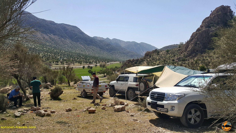 مسیر فیروزآباد تا بوشهر – نوروز ۱۳۹۷