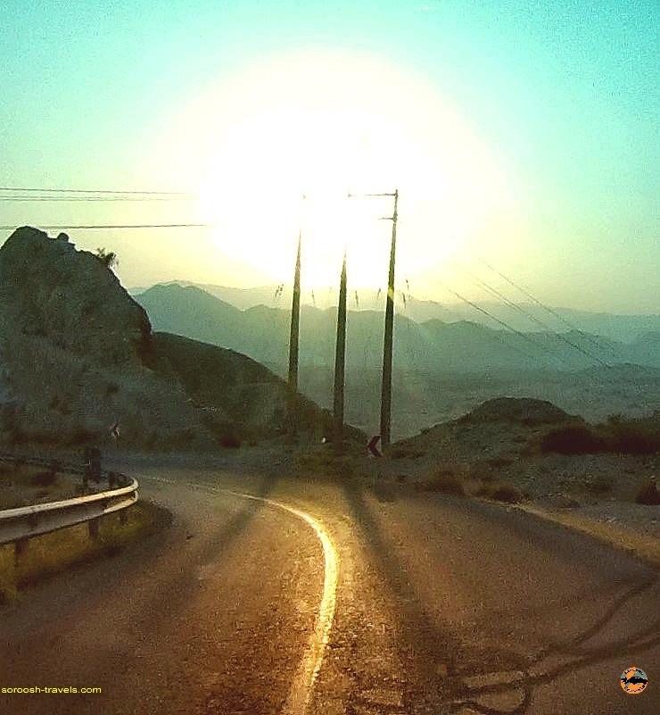 مسیر فیروزآباد به بوشهر