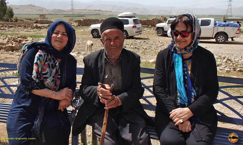 عشایر بختیاری در منطقه کول فرح - ایذه - نوروز 1397 2018