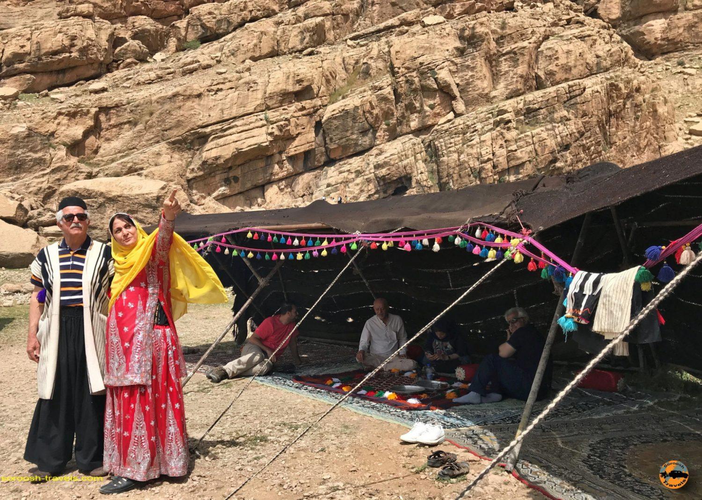 چادرهای عشایر در منطقه کول فرح - ایذه - نوروز 1397 2018