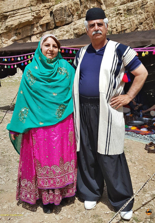 لباسهای عشایر بختیاری در منطقه کول فرح - ایذه - نوروز 1397 2018
