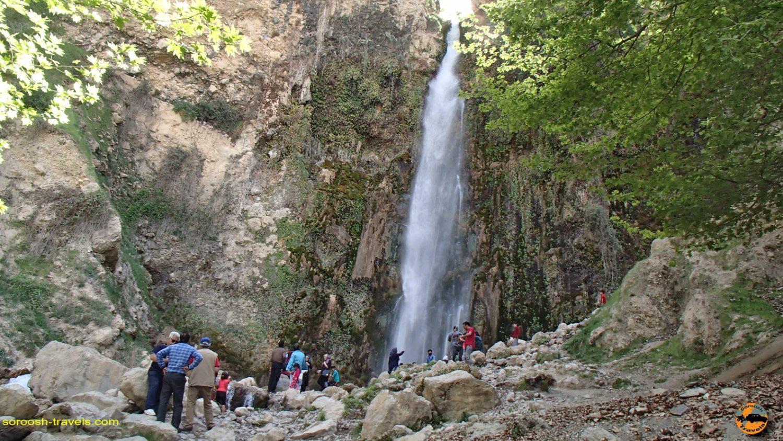 آبشار شیوند Sheyvand – نوروز ۱۳۹۷